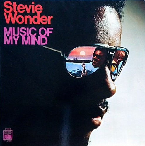 Wonder, Stevie - Music Of My Mind - Nearly White Hot Stamper