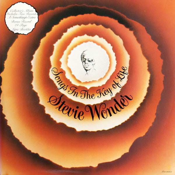 Wonder, Stevie - Songs In The Key Of Life - Nearly White Hot Stamper