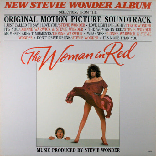 Wonder, Stevie - The Woman In Red - White Hot Stamper