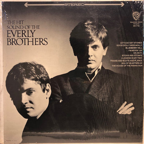 Everly Brothers, The - The Hit Sound Of... - Nearly White Hot Stamper