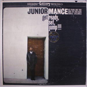 Mance, Junior - Get Ready, Set, Jump!!! - White Hot Stamper