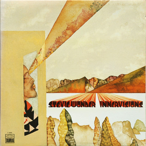Wonder, Stevie - Innervisions - Nearly White Hot Stamper