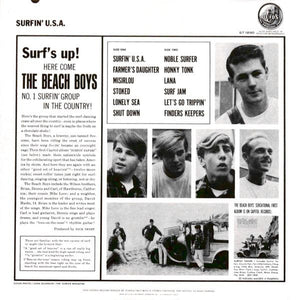 Beach Boys, The - Surfin' USA - White Hot Stamper (Quiet Vinyl)