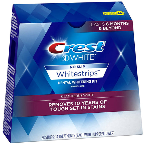 Crest 3D Whitestrips Advanced Vivid Glamorous White Blanqueamiento