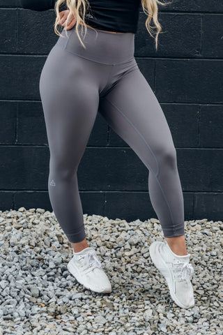 EVA's Exclusive Opulence Leggings - Slate Grey
