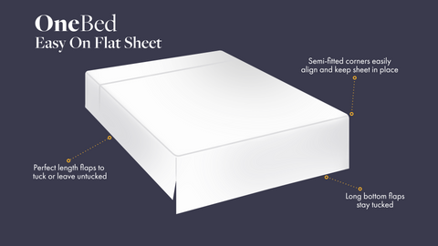 One Bed Easy On Flat Sheet