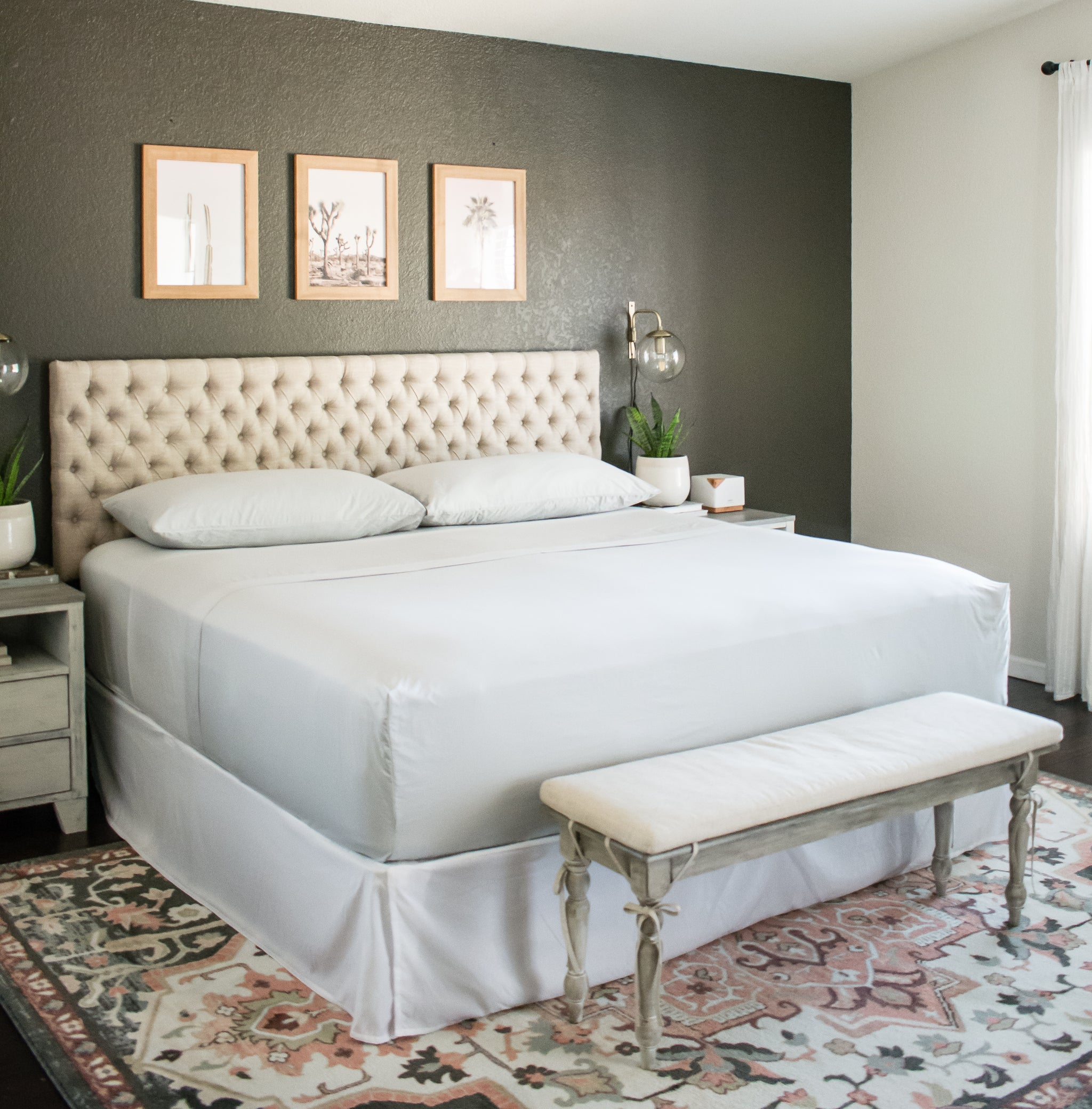 Luxe Stay On Fitted Sheet