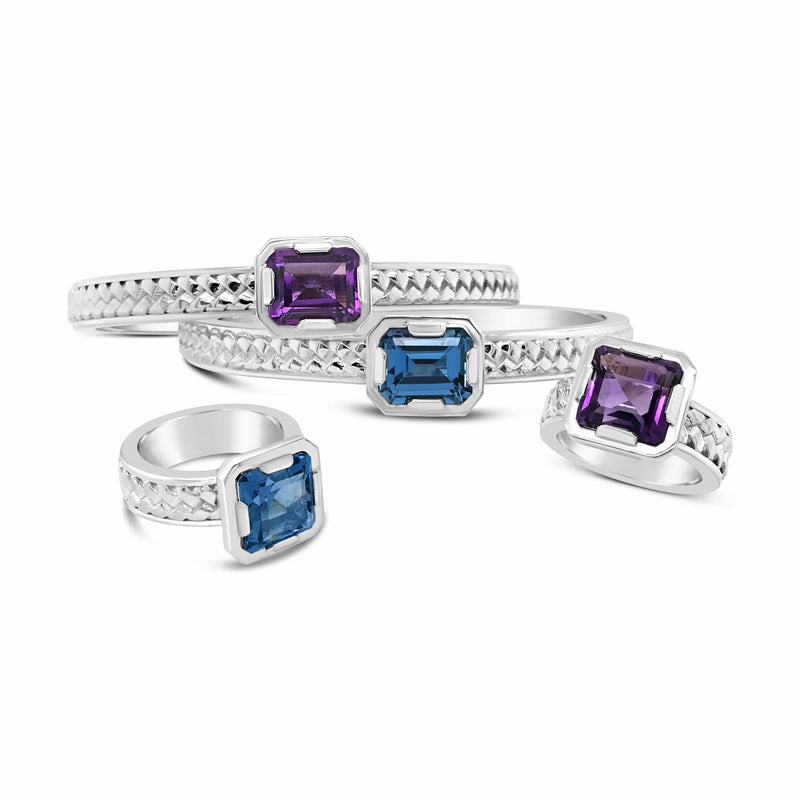 products/amethyst-blue-topaz-herringbone-cuffs-rings-big-square-stones.jpg