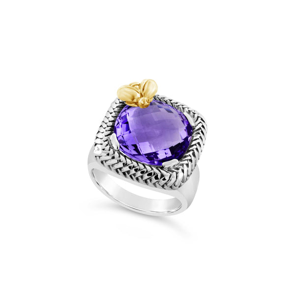 amethyst ring in silver