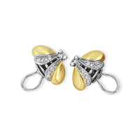 bumble bee earrings with diamonds