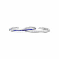 sapphire and diamond tennis bracelets