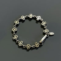 bracelet with crosses