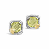 yellow stone earring
