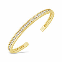 diamond heirloom open back cuff bangle bracelet