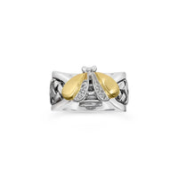 diamond bumble bee ring