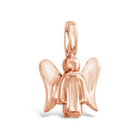 rose gold angel pendant for necklace