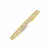 fine jewelry large size diamond cuff bracelet in 18k gold