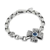 maltese cross bracelet