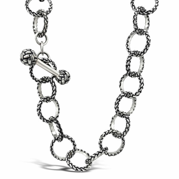 open chain link necklace