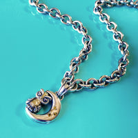 owl necklace from saint by sarah jane