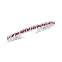 ruby bracelet white gold