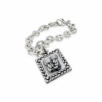 saint anthony charm bracelet