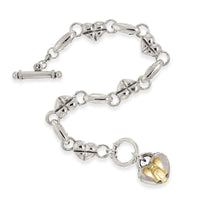 bracelet with angel charm