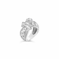 diamond frog ring