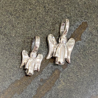 silver angel pendants