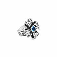 silver maltese cross ring