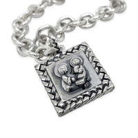 small saint anthony bracelet charm