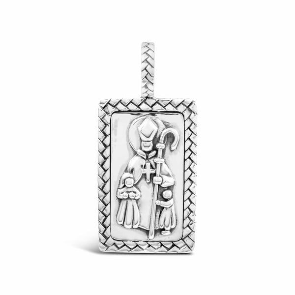 St. Thomas of Villa Nova Medal | Sterling Silver