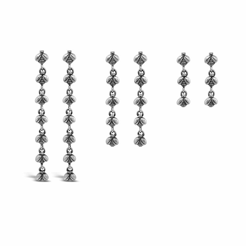 products/swarm_bee_earrings_silver_lengths.jpg