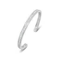 white gold pave diamond bracelet