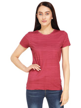 Load image into Gallery viewer, Red Melange T-Shirt