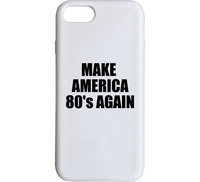 Make America 80's Again iPhone Case