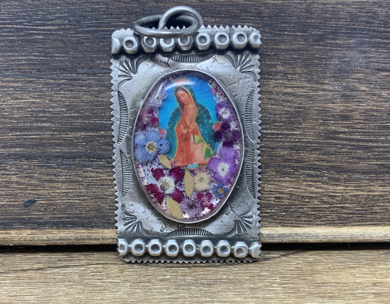 Falcon Trading Company Our Lady of Guadalupe Charm