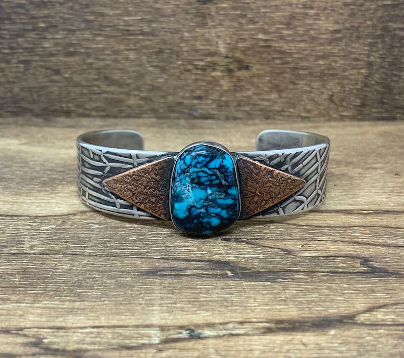 Cloud Mountain Turquoise Bracelet