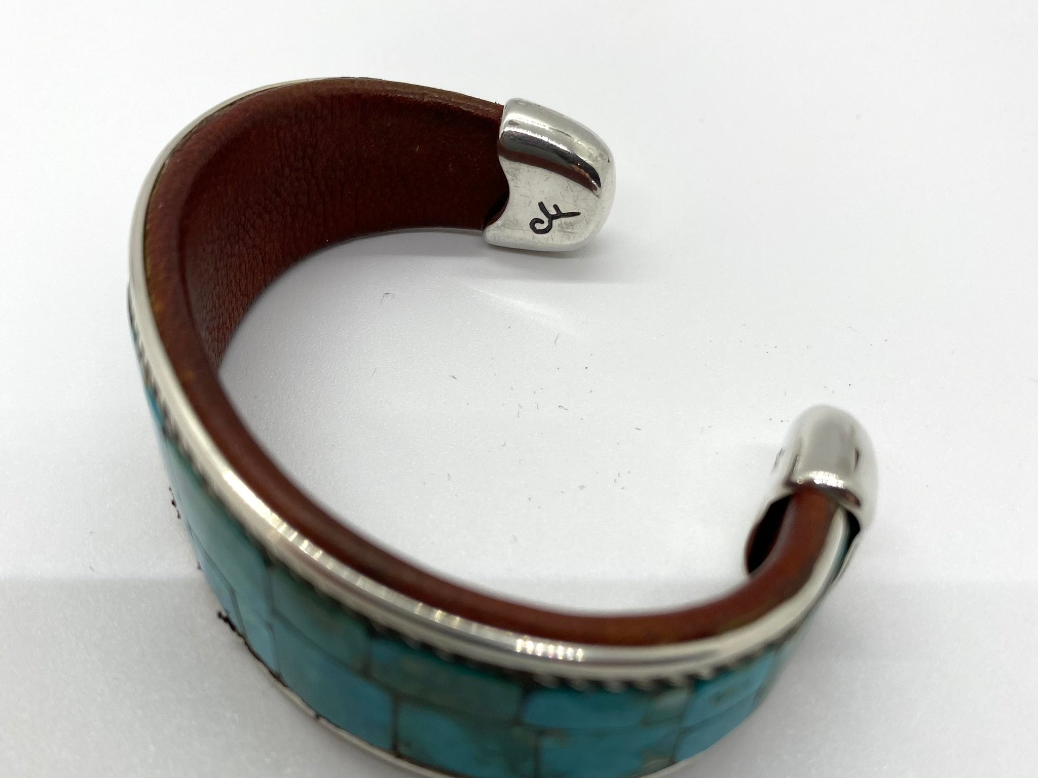 Charlie Favour High Grade Misty Blue Cuff