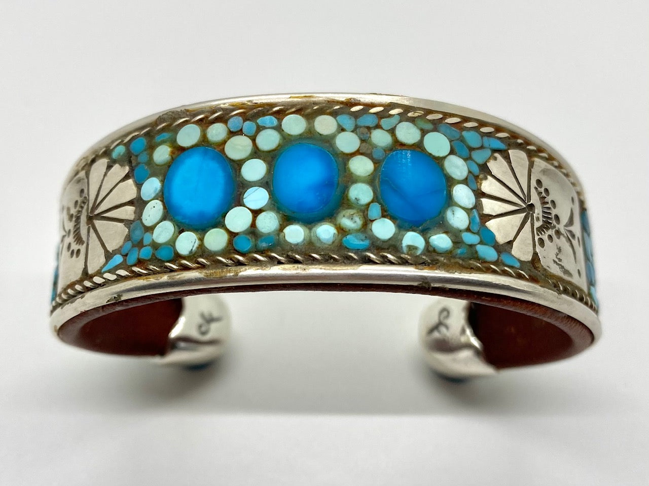 Charlie Favour Turquoise Inlay Bracelet