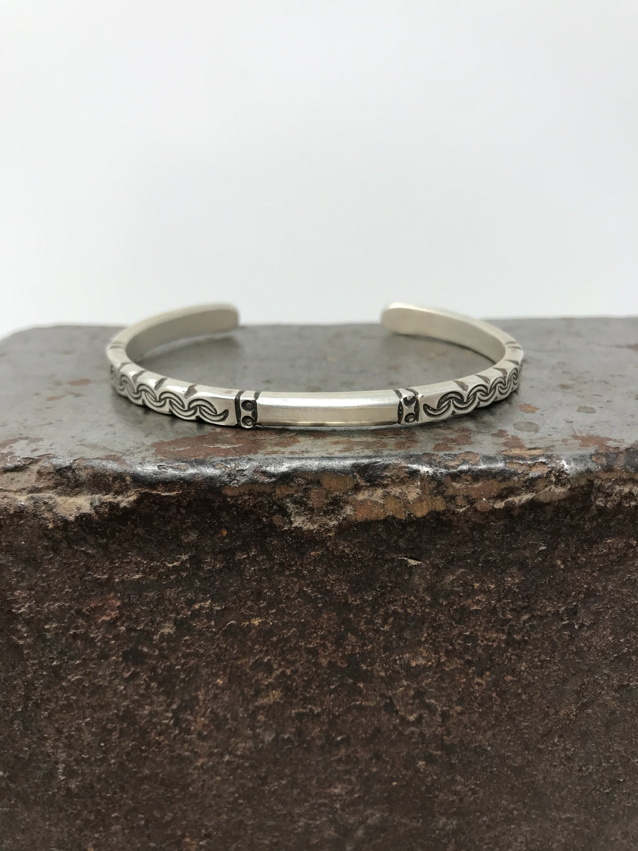 Sterling Silver Southwest Stacker