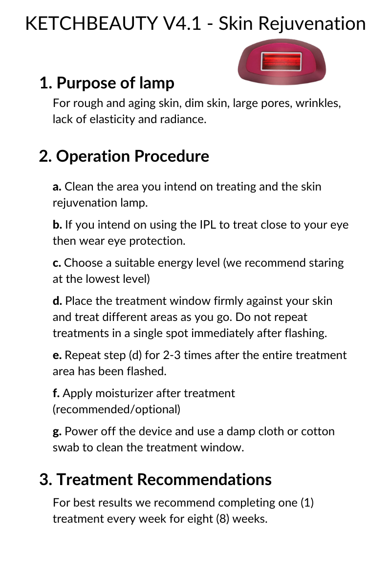 how to use an IPL for skin rejuvenation