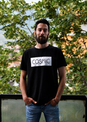 Cosmic, T-Shirt: Round Neck, Regular Fit - Cosmic Hippos