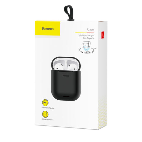 Baseus Wireless Charger for Airpods Black (WIAPPOD-01) - www.e-navigacijos.lt