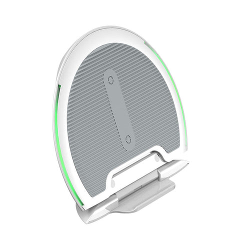 Baseus Wireless Charger Foldable Multifunction 10W White-Gray (WXZD-02) - www.e-navigacijos.lt