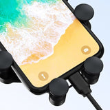 Wozinsky Gravity Car Mount Phone Holder for Air Outlet black (WCH-01) - www.e-navigacijos.lt