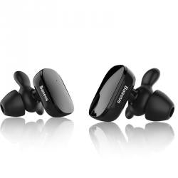 Baseus Earphone Bluetooth Encok W02 Truly headset Black (NGW02-01) - www.e-navigacijos.lt