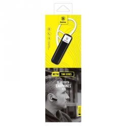Baseus Earphone Timk series Bluetooth Black (AUBASETK-01) - www.e-navigacijos.lt