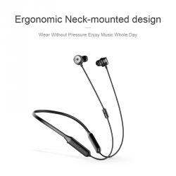 Baseus Earphone Bluetooth SIMU S15 Active Noise Reduction Wireless Black (NGS15-01)