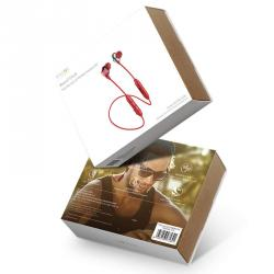 Baseus Earphone Bluetooth Encok S10 Dual Moving-coil Headset Red (NGS10-09) - www.e-navigacijos.lt